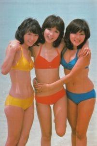 伊藤蘭、若い頃の水着画像まとめ。時代を感じる髪型でも娘より可愛い!?