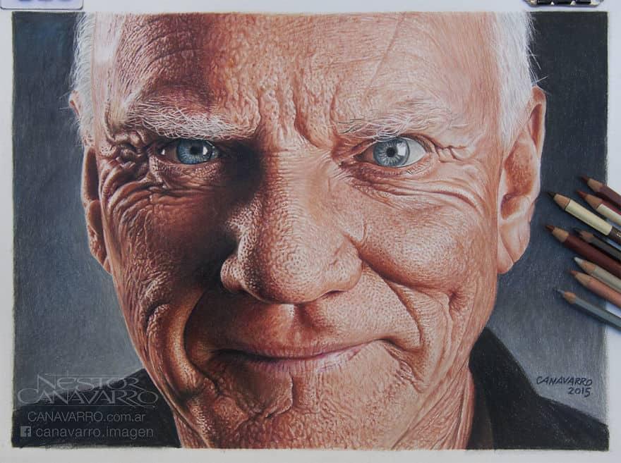【超リアル】色鉛筆だけで描いた人物画が凄い。.jpg