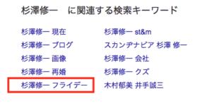 逮捕された杉澤修一の現在のブログに謎の英語!?再婚は!?フライデーされていた!?