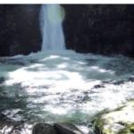 おしらじの滝 出現が神秘的でヤバい.....