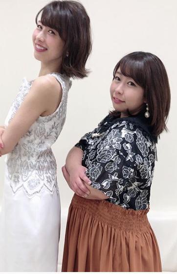 加藤綾子 そっくり2ショット画像で発覚!!全然似ていない.....www