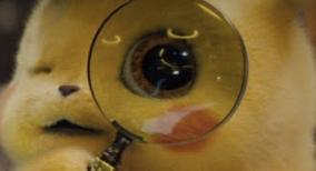 名探偵ピカチュウ 最新映像動画はこちら!!目と声が...www